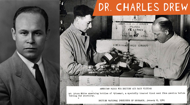 Dr. Charles Drew - Celebrate these African American Inventors