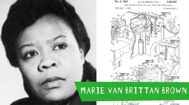 Marie Van Brittan Brown - Celebrate these African American Inventors