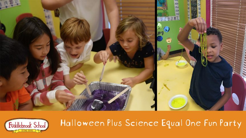 Halloween Plus Science Equals One Fun Party