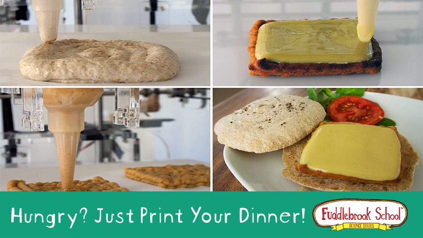Hungry? Just Print Your Dinner!
