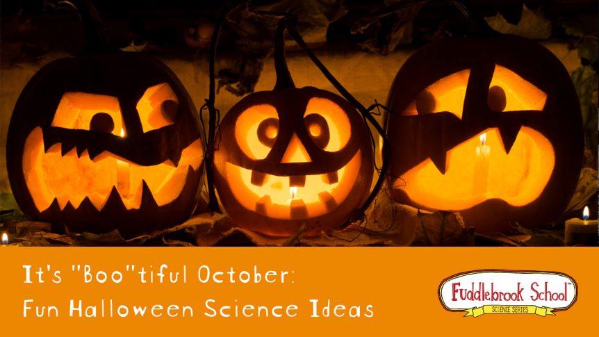 "It's a ""Boo""tiful October: Fun Halloween Science Ideas"