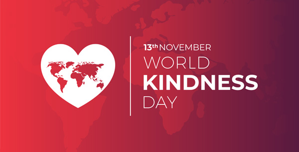 13th November World Kindness Day